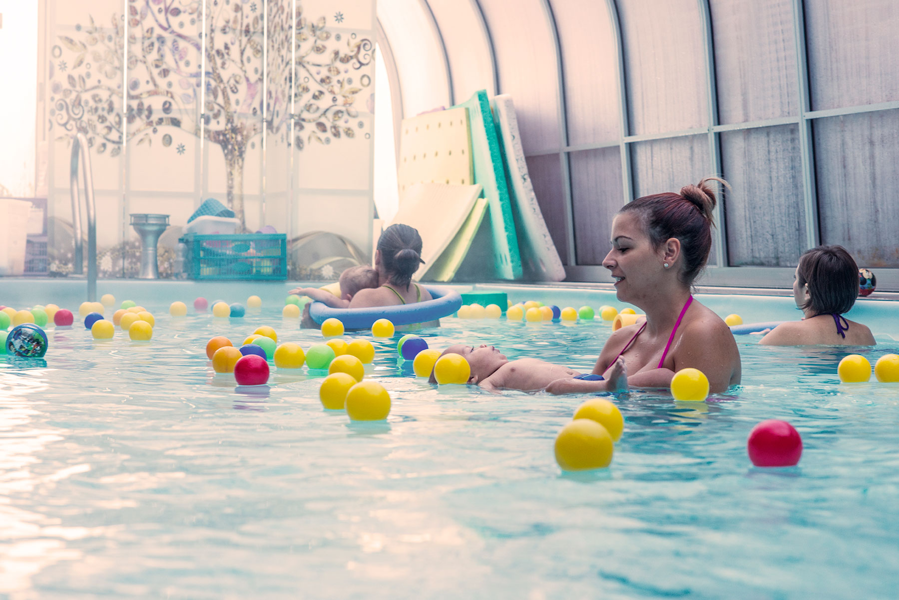 piscina per coppie e gravidanza