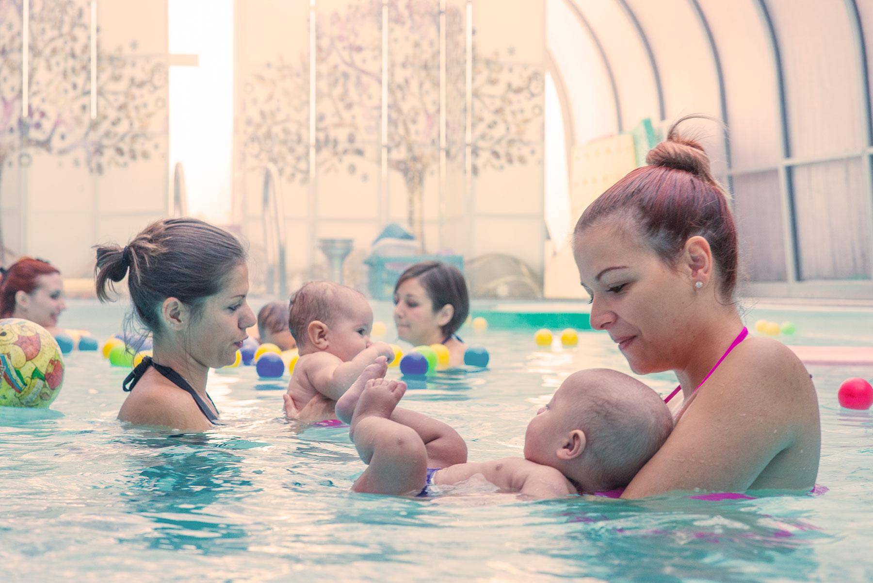 acquaticità per neonati